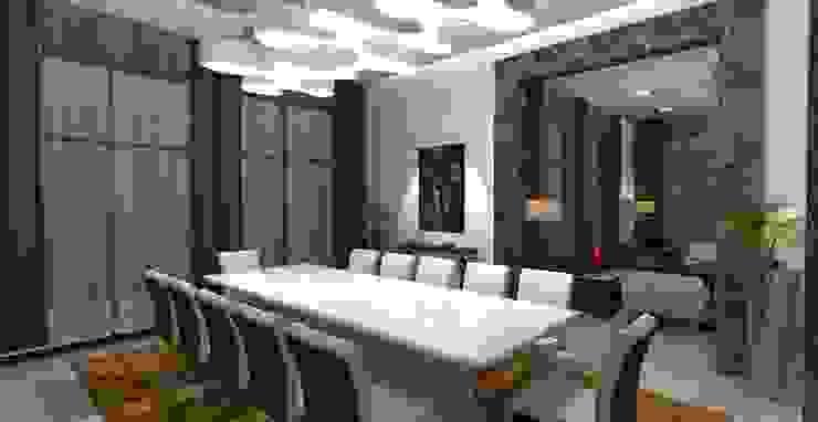 Barari Villa Modern dining room by Gurooji Designs Modern
