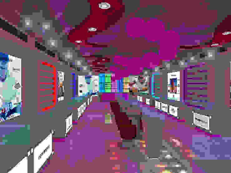 Watch Showroom by Gurooji Designs Modern