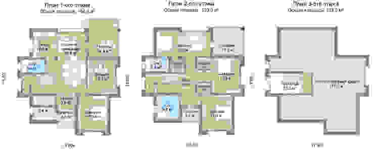 Аликанте_357 кв.м:  в . Автор – Vesco Construction,