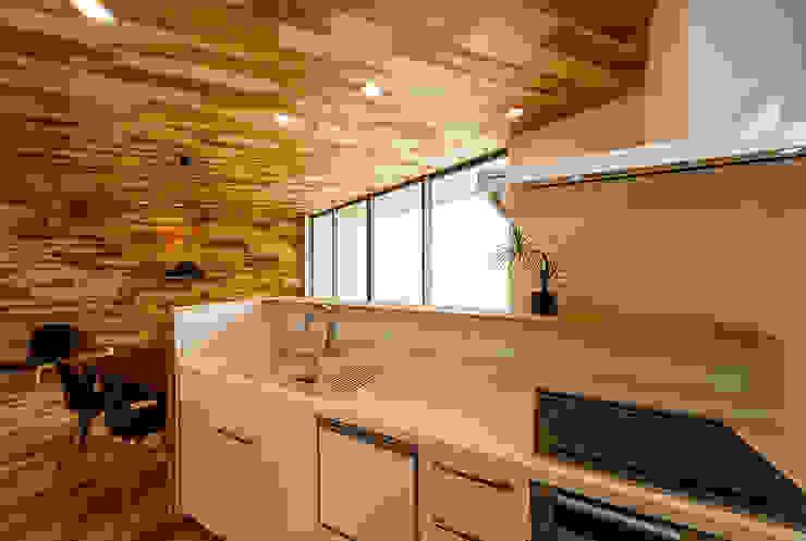 Dapur Gaya Skandinavia Oleh 一級建築士事務所haus Skandinavia Kayu Wood effect
