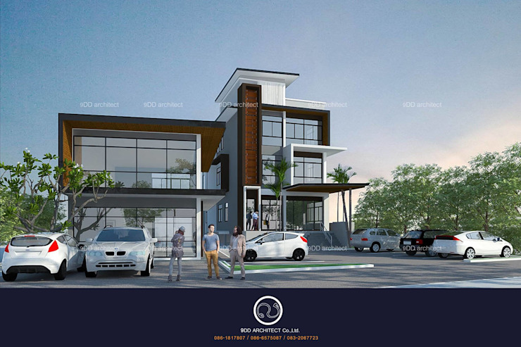 Commercial Building,townhome โดย 9DD Group