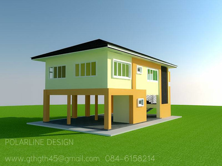 ผลงานของบริษัท โดย แบบบ้านออกแบบบ้านเชียงใหม่