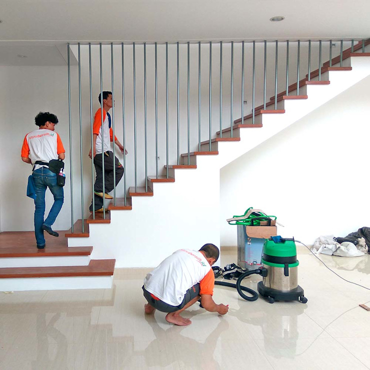 Jasa bersih lantai Dinding & Lantai Minimalis Oleh SapuBersih.id Minimalis
