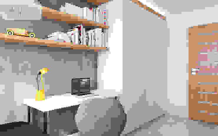 Modern Kid's Room by Spacja Studio Modern Concrete