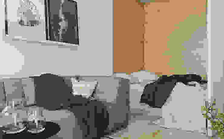 Modern Bedroom by Spacja Studio Modern