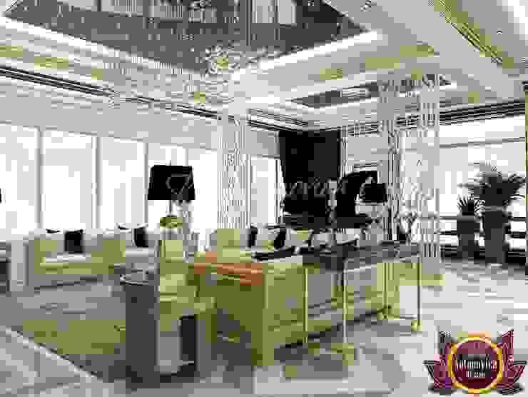  Penthouse design Dubai by Katrina Antonovich Modern living room by Luxury Antonovich Design Modern