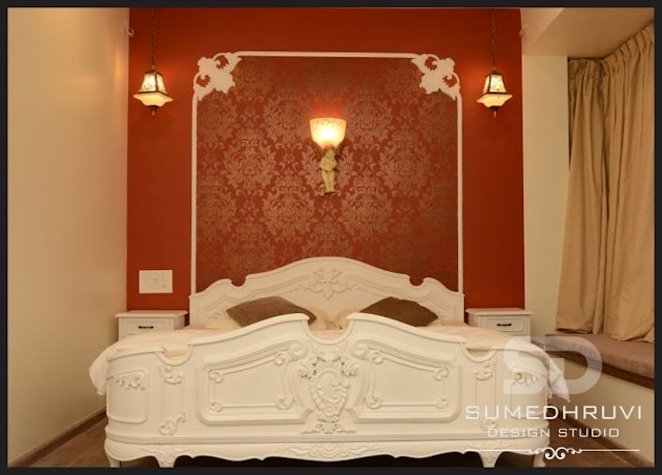 Master Bedroom Classic style bedroom by SUMEDHRUVI DESIGN STUDIO Classic
