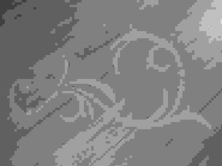 stencilled floor Style Within Wände & BodenWand- und Bodenbeläge Massivholz Braun