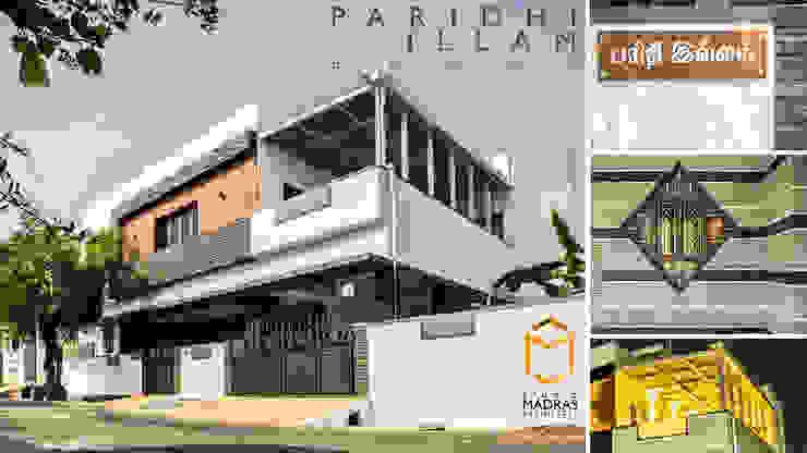 Closer look Minimalist houses by Studio Madras Architects Minimalist