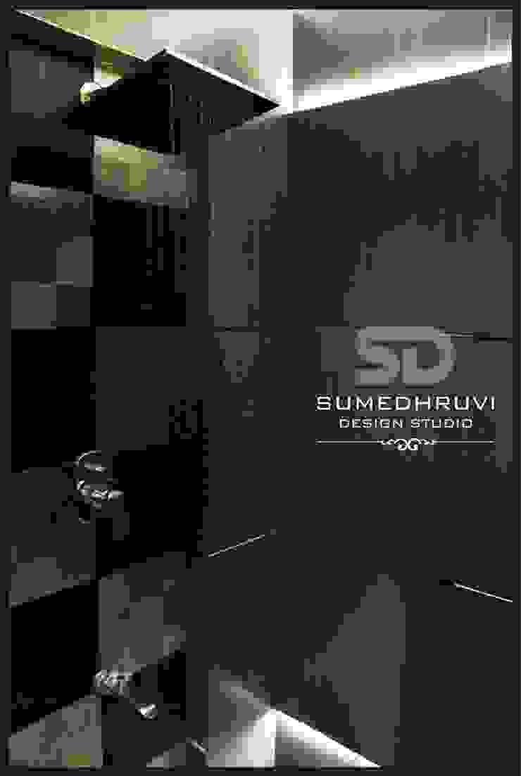 Master Bathroom Shower area Modern Bathroom by SUMEDHRUVI DESIGN STUDIO Modern