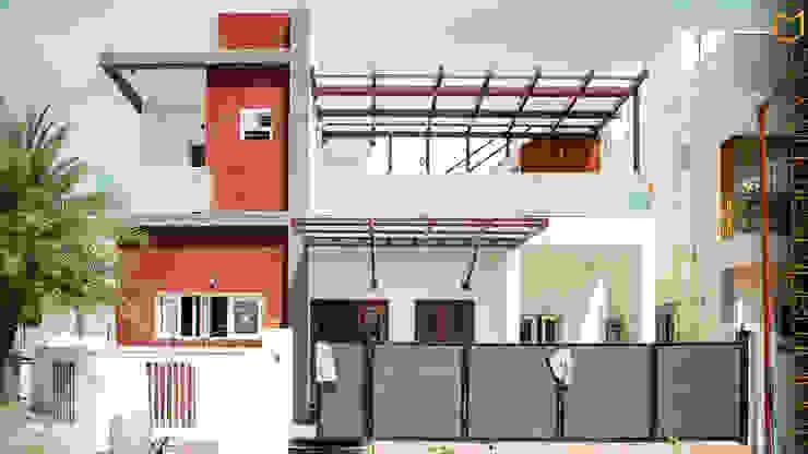 Frontage Minimalist houses by Studio Madras Architects Minimalist