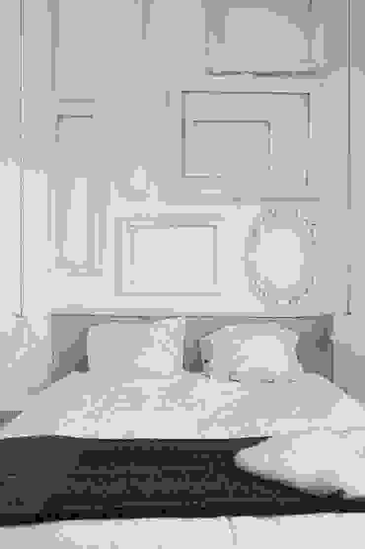 City apartment Minimalistische slaapkamers van J.PHINE Minimalistisch