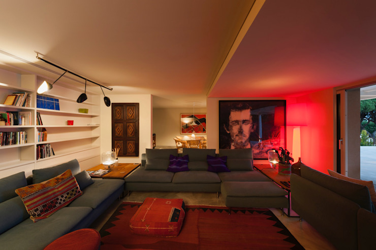 Livings de estilo  por StudioCAN