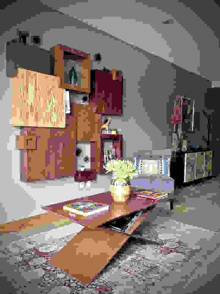 Erika Winters Design Ingresso, Corridoio & Scale in stile moderno