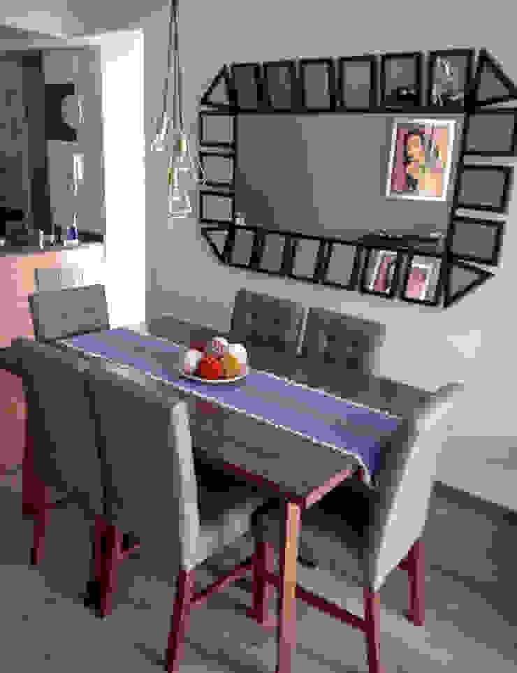 Erika Winters Design Sala da pranzo moderna
