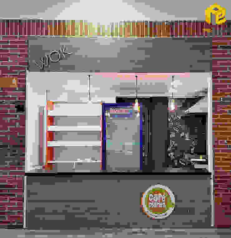 Cafe Plante- U. San Buenaventura Bogotá. de Pro Escala Arquitectos SAS Moderno