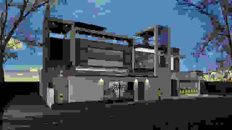 Bunglow Modern houses by UK CONCEPT DESIGNER Modern