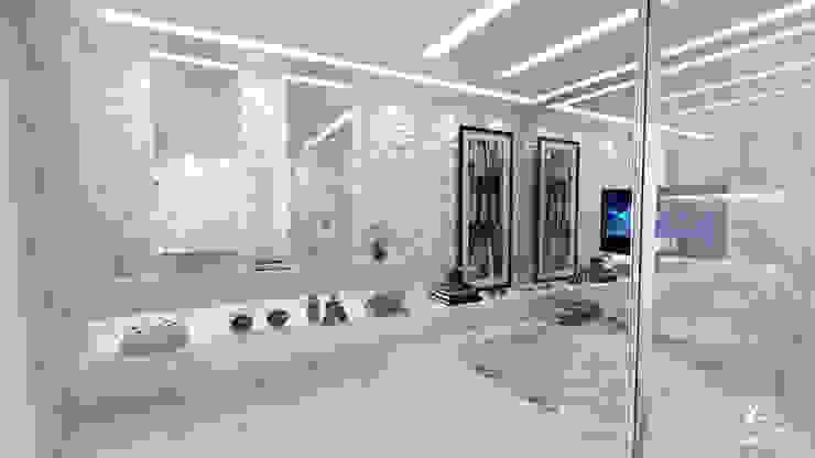حديث  تنفيذ Larissa Reis Arquitetura , حداثي رخام