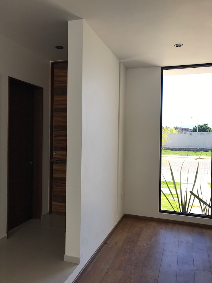 Alfagrama estudio Modern Windows and Doors Wood Brown
