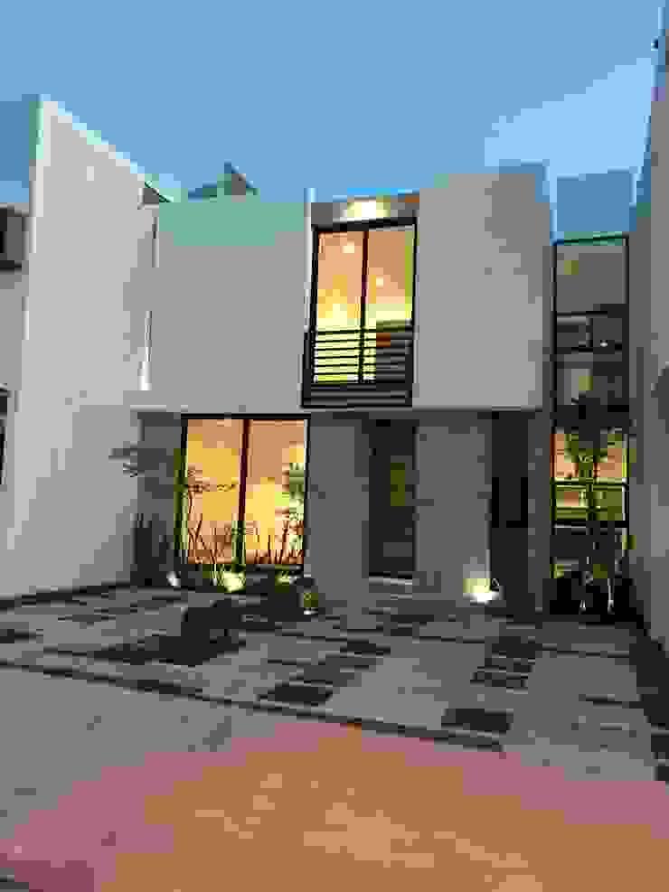 Rumah Modern Oleh Alfagrama estudio Modern Batu Kapur