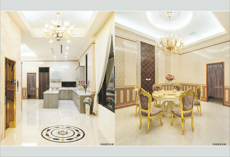 Classic style dining room by 詠盛興營建機構 Classic