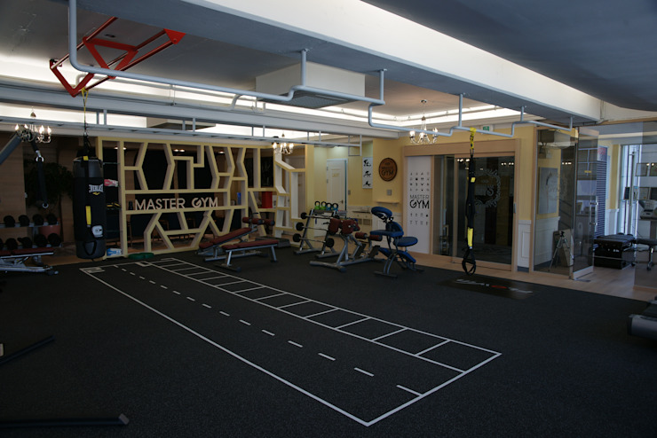 Scandinavian style gym by oldantique design 오직 모양새만 생각하는 사람들 Scandinavian Rubber