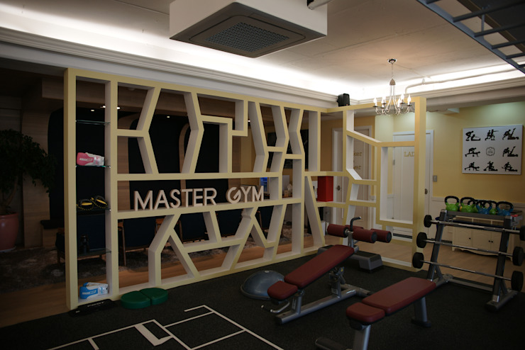 Scandinavian style gym by oldantique design 오직 모양새만 생각하는 사람들 Scandinavian MDF