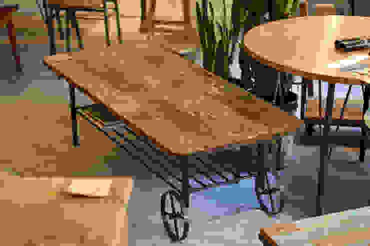トロッコテーブル: gleamが手掛けた工業用です。,インダストリアル