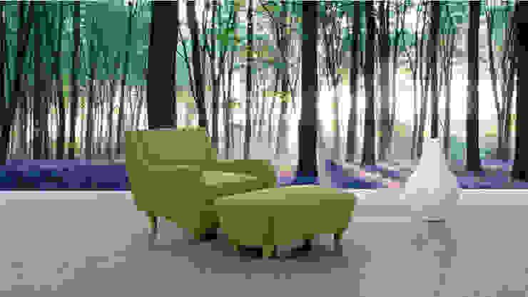 living room: Salas de estilo  por Naromi  Design , Tropical
