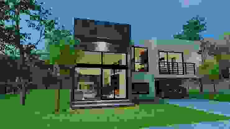 บ้าน 2 ชั้น โดย Homeสร้างสุข