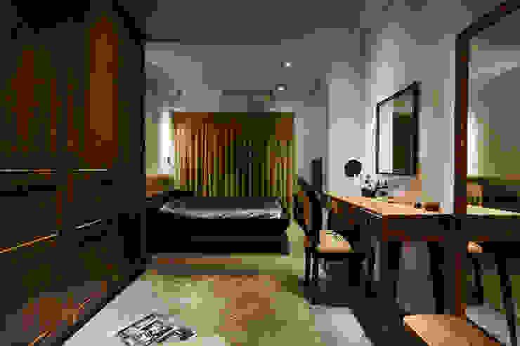 Habitaciones de estilo  por 弘悅國際室內裝修有限公司,