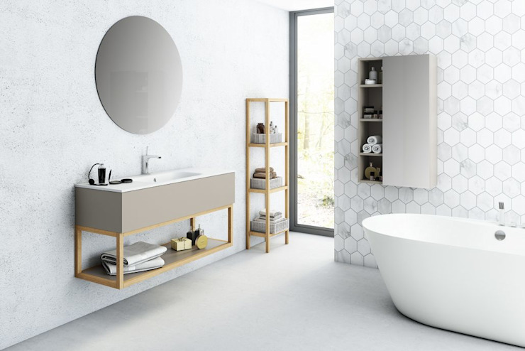 Minimalist style bathroom by Sumitay Minimalist