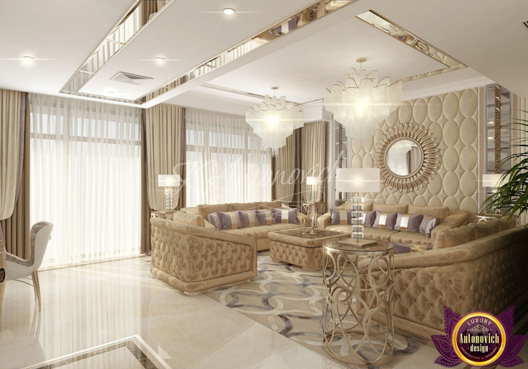 Luxury Antonovich Design Living room