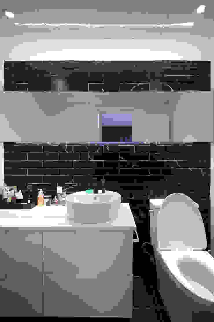 남양주 아파트 인테리어 모던스타일 욕실 by 와이피스페이스 모던
