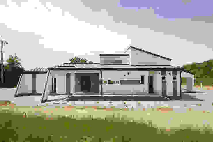 경남 사천시 전원주택 모던스타일 주택 by (주)그린홈예진 모던