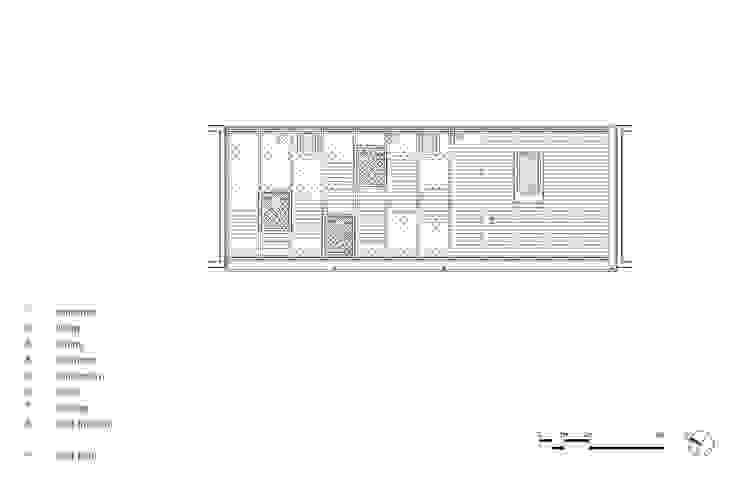 Hofjeswoningen Westeinde van studio suit Industrieel