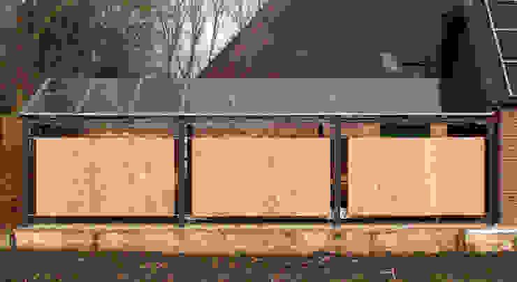Zonnedak Moderne garage van studio suit Modern Hout Hout
