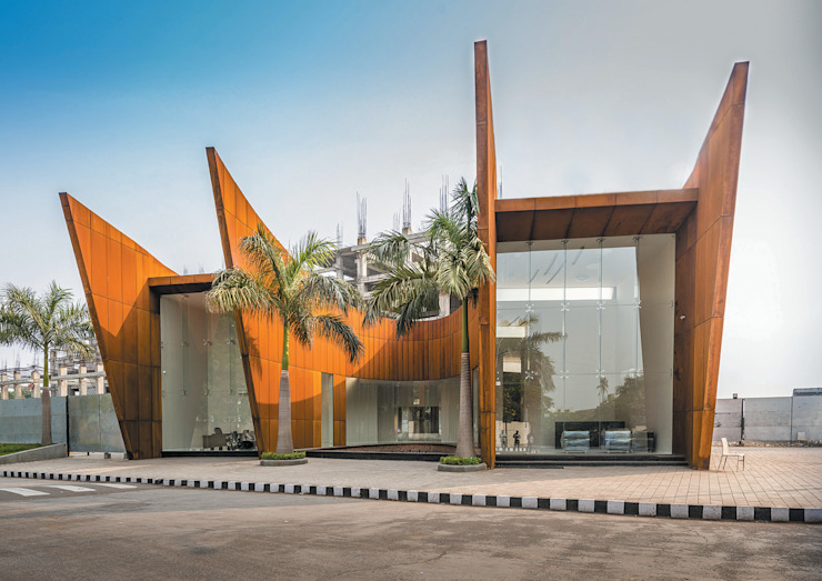 THE CRESCENT Modern houses by SANJAY PURI ARCHITECTS Modern