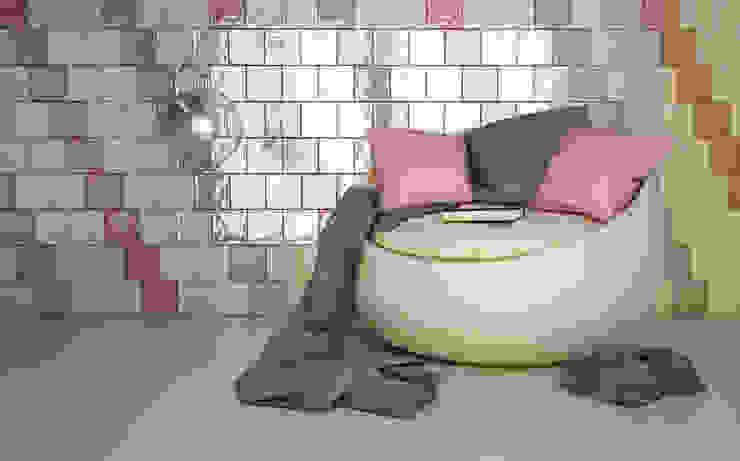 Dinding & Lantai Gaya Rustic Oleh Ceragni Rustic Ubin