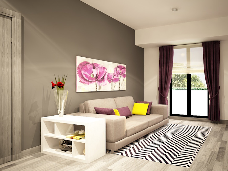 Modern living room by Zono Interieur Modern