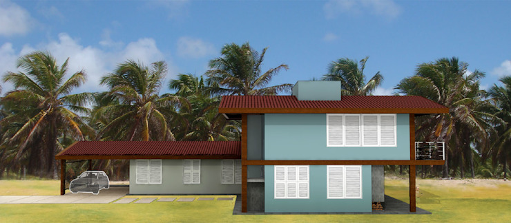 Casas de estilo tropical de Mutabile Tropical