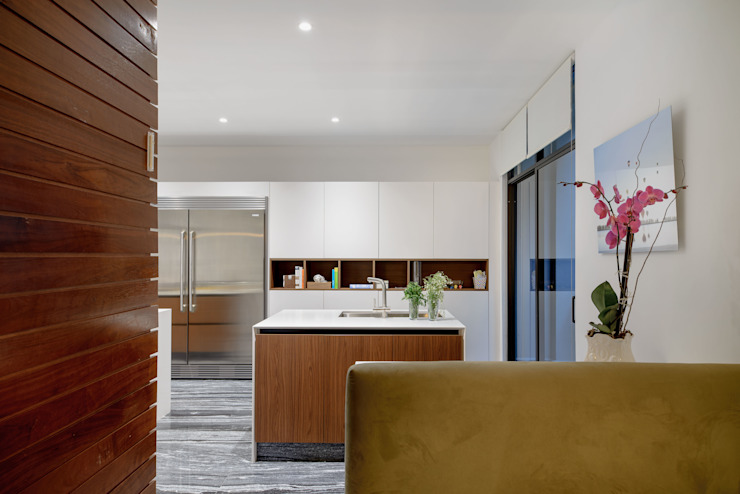 NIVEL TRES ARQUITECTURA Modern kitchen