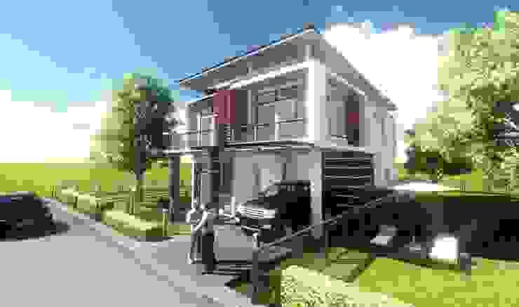 เรียบง่าย modern โดย FULL HOUSE Design
