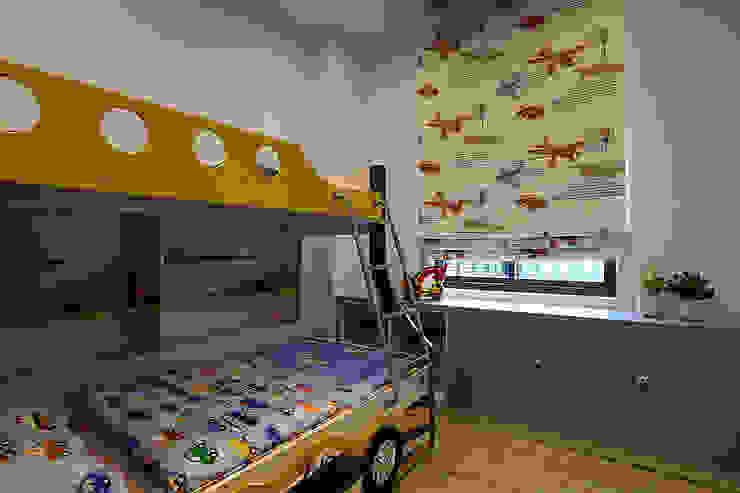 <低預算>舊屋翻新-小家庭的夢想家 品茉空間設計(夏川設計) 嬰兒房/兒童房 木頭 Blue