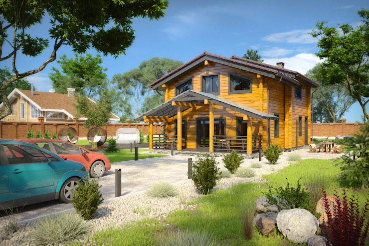 Amber Haus Classic style houses Wood Wood effect