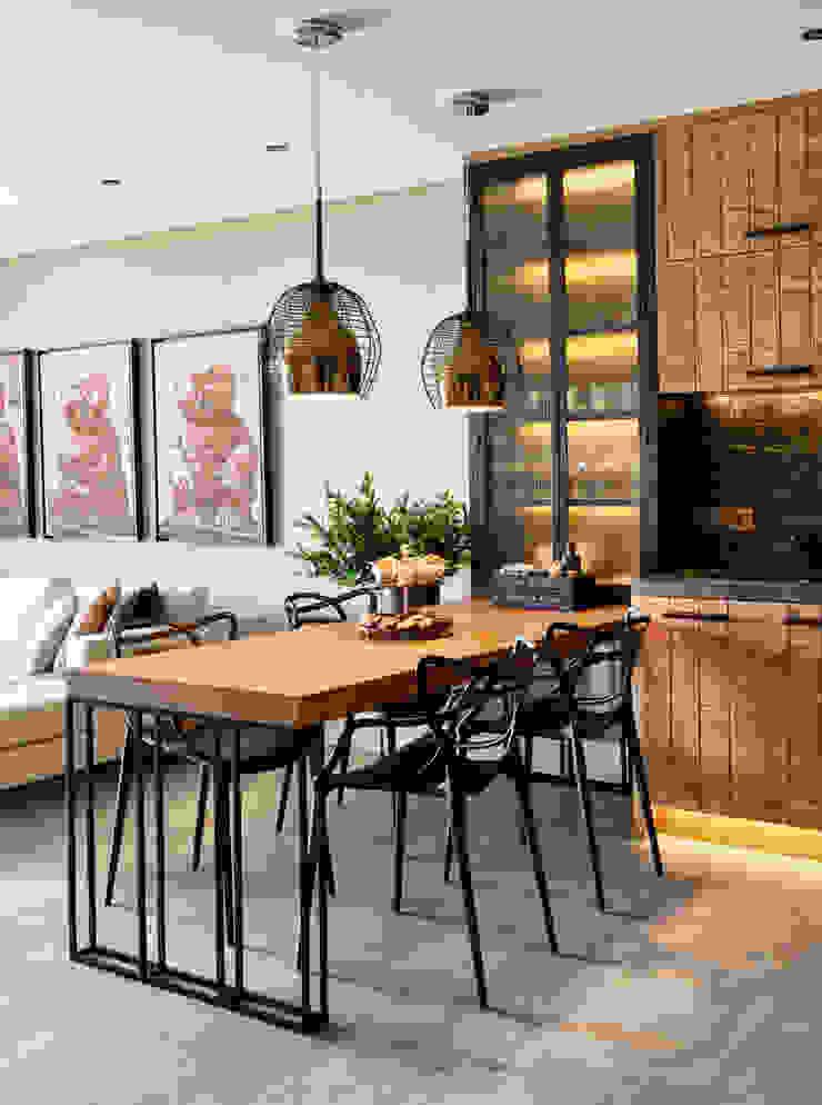 GUNDOGAN SUMMER HOUSE Modern Kitchen by Esra Kazmirci Mimarlik Modern