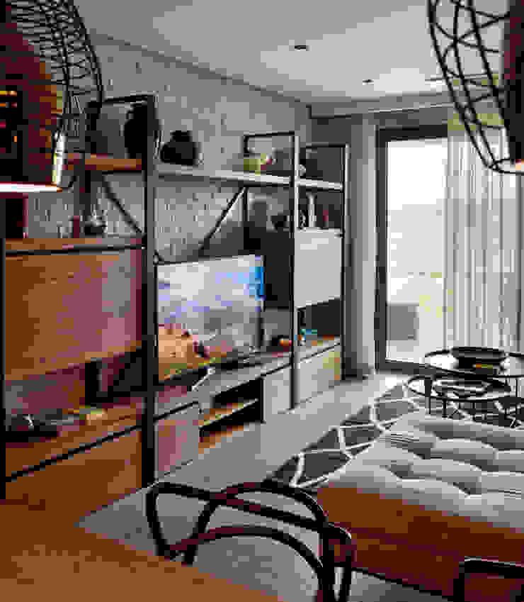 GUNDOGAN SUMMER HOUSE Modern Living Room by Esra Kazmirci Mimarlik Modern