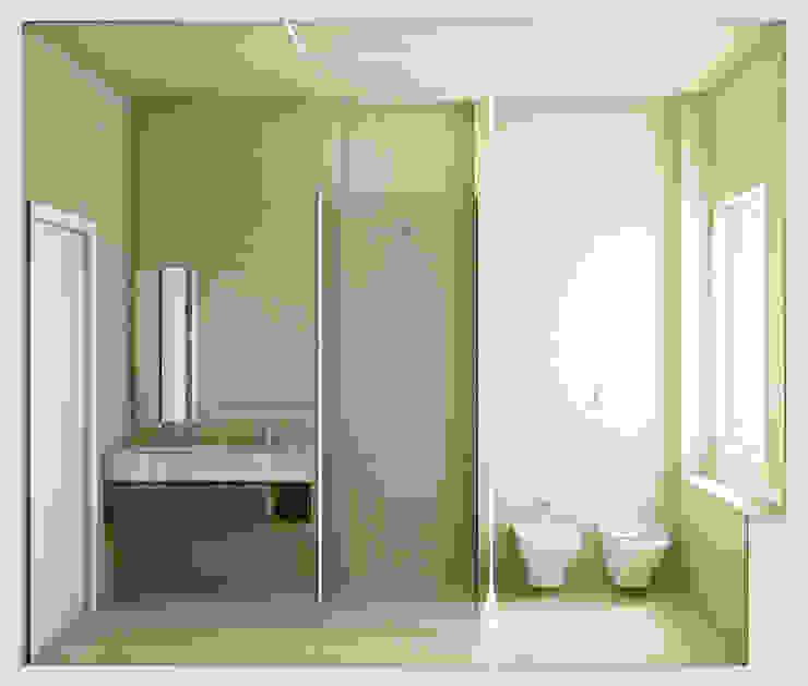 SOA Spazio Oltre l'Architettura Baños de estilo moderno Beige