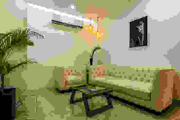 Office Project, Bilaspur ESHA GARG : Interior Designer Office spaces & stores