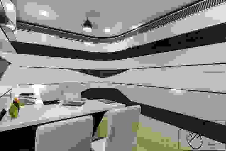 Office Project, Bilaspur ESHA GARG : Interior Designer Modern study/office